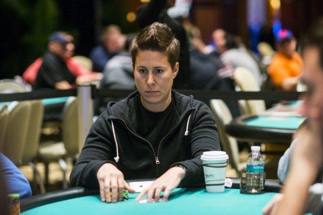 Vanessa Selbst at the WPT Borgata Winter Poker Open Season 15