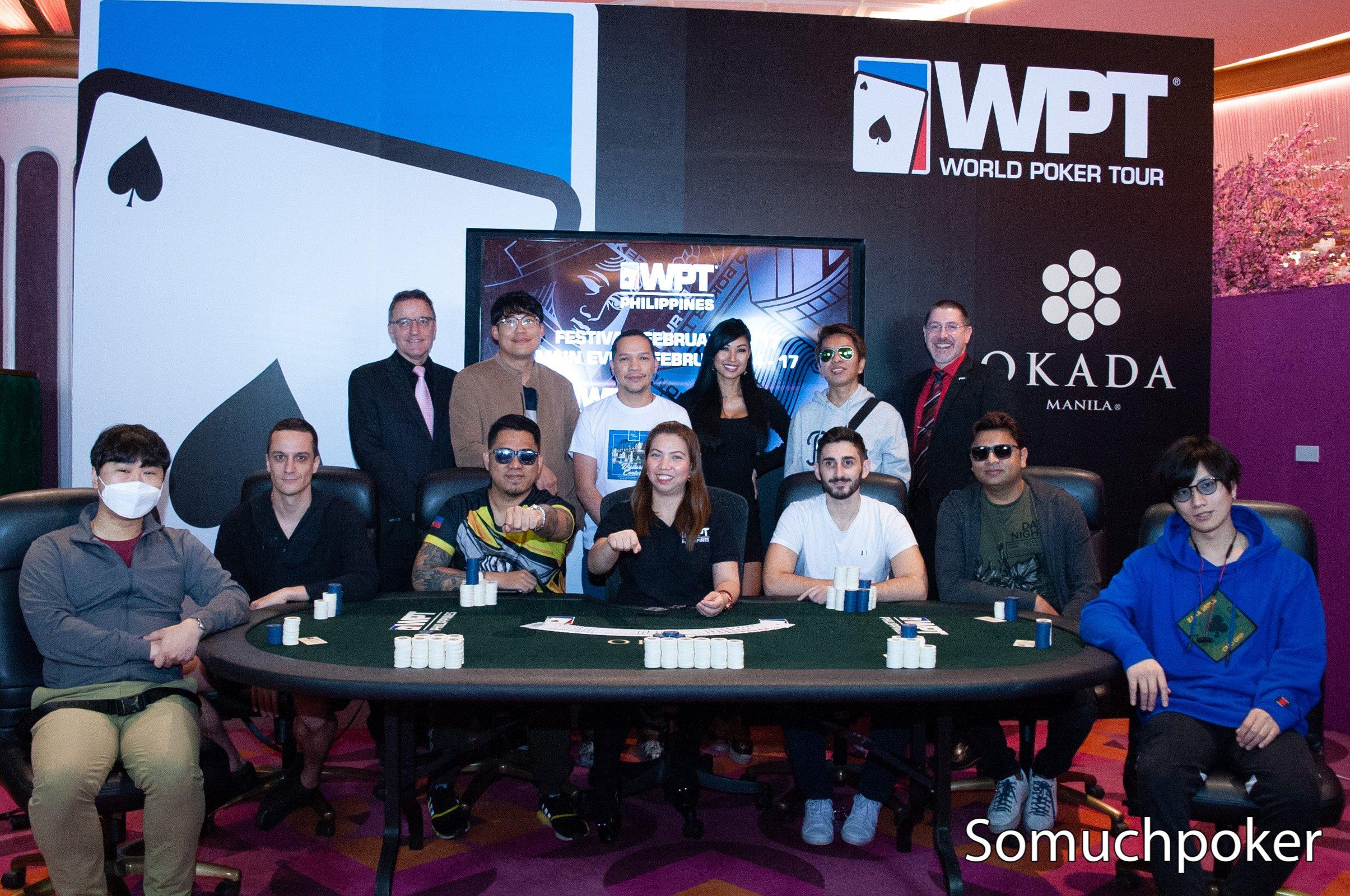 WPT Philippines 2020 Main Event - Live Updates