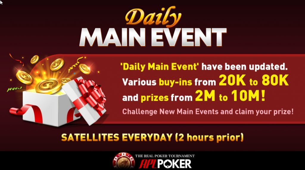 Daily Main Event