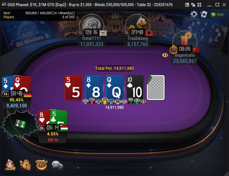 Day 22 GGS Phased 1M GTD 1