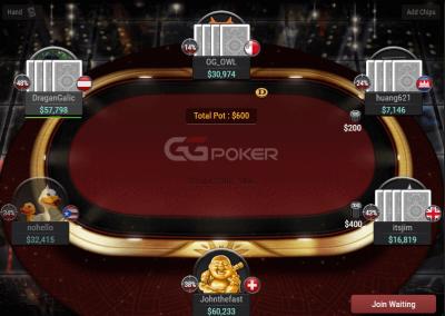 GGPoker-table