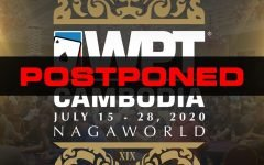 WPT Cambodia Cancelled