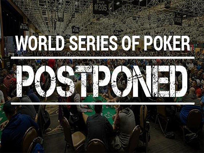 51st World Series of Poker 2020 Postponed for Fall