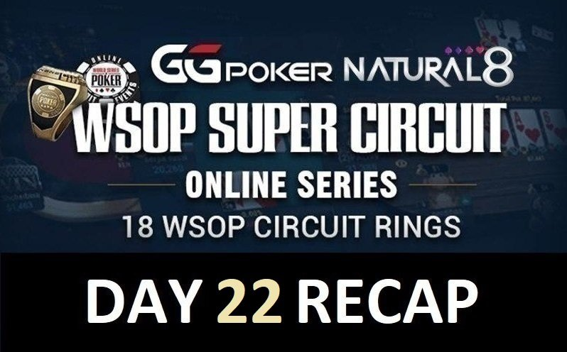 Natural8-WSOPC: WhiteChick banks the COLOSSUS; 5Dinks4All wins the Monster Stack; ForrestHaggerty & Michael Soyza top N8 performers