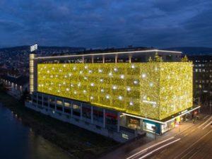 Swiss Casino Zürich building at night