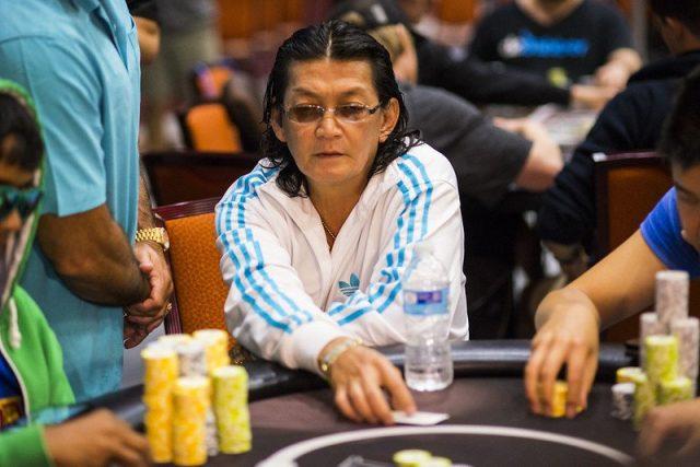 Scotty Nguyen playing poker