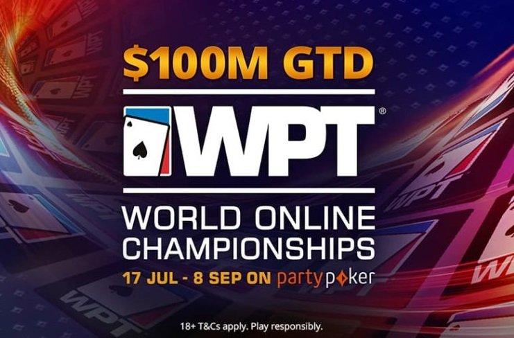 WPT World Online Championships Schedule