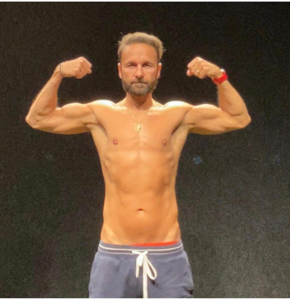Daniel Negreanu fitness