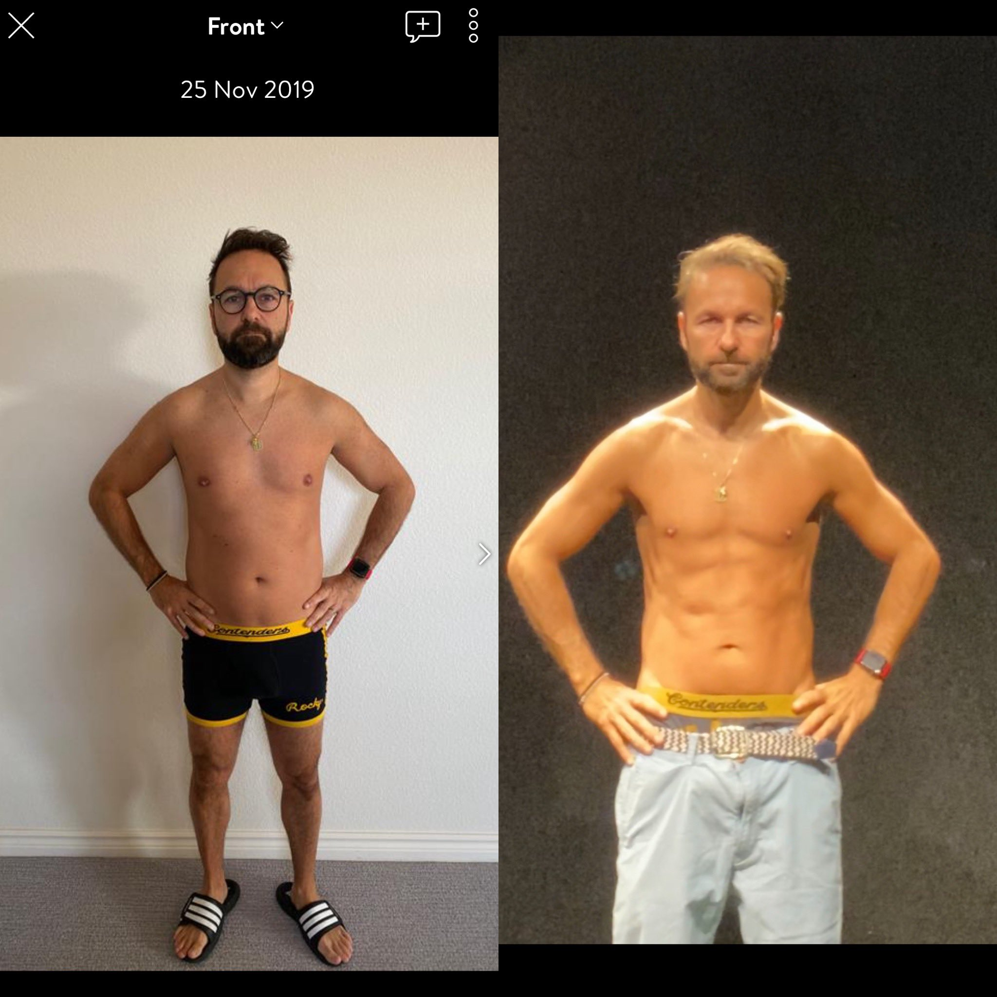 Daniel Negreanu fitness progress