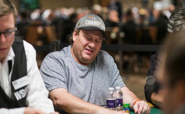 Gavin Smith playing poker
