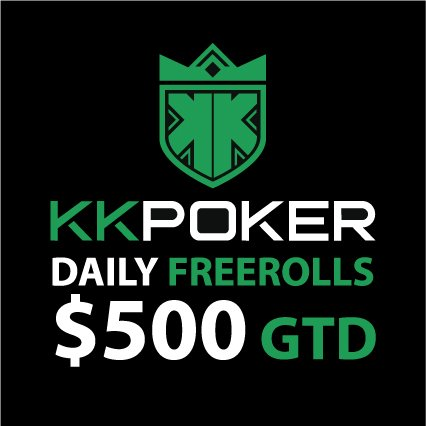 Exclusive Freeroll on KKPoker: $500 for Grab Daily - No Deposit Needed!
