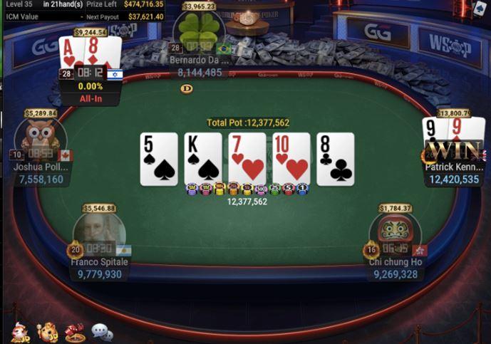 WSOP 45 840 Bounty No Limit Hold'em 1