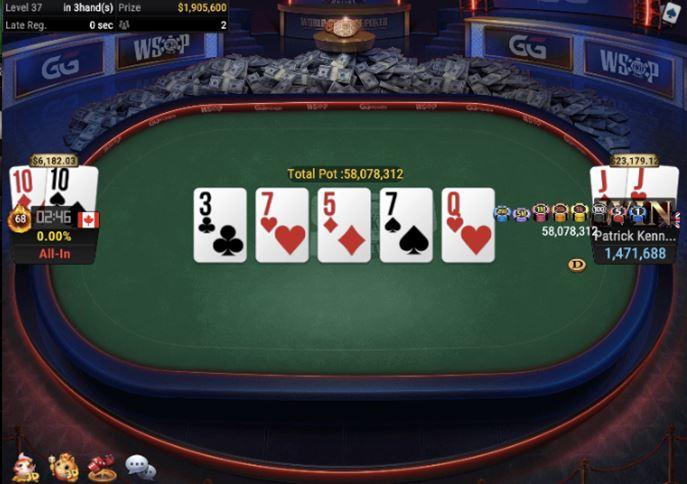 WSOP 45 840 Bounty No Limit Hold'em