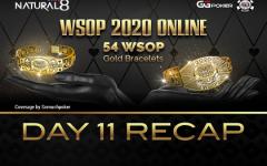 WSOP Day11 recap