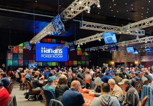 Harrahs Casino poker room
