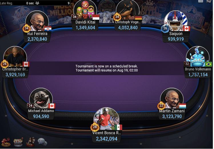 High Roller Super MILLION 10K 2M GTD final table 1