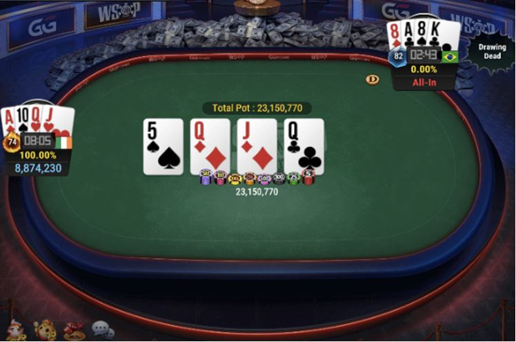 WSOP 66 800 Pot Limit Omaha