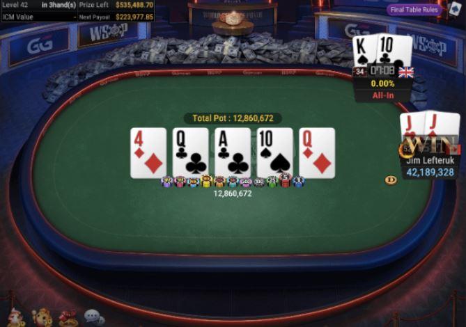 WSOP 73 1K No Limit Hold'em 6 Handed