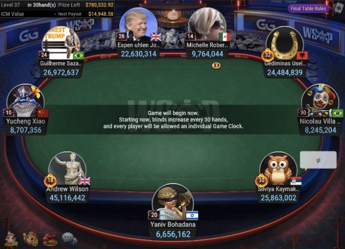 WSOP 76 400 FORTY STACK No Limit Hold'em final table