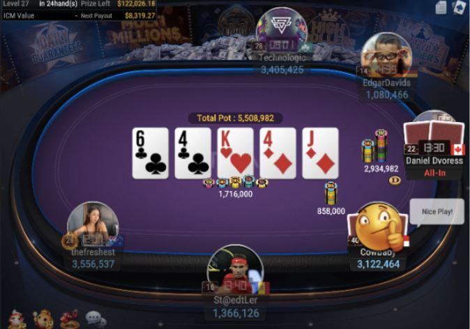 WSOP Side Event 500 Deepstack 6 Handed 1