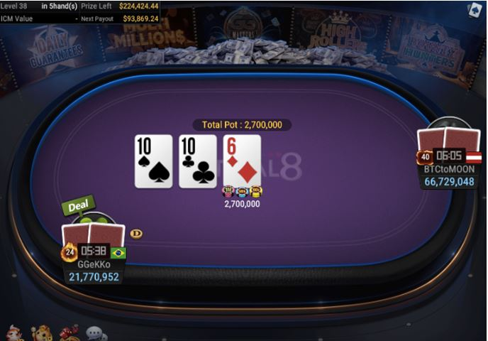 WSOP Side Event 500 FIFTY STACK 3
