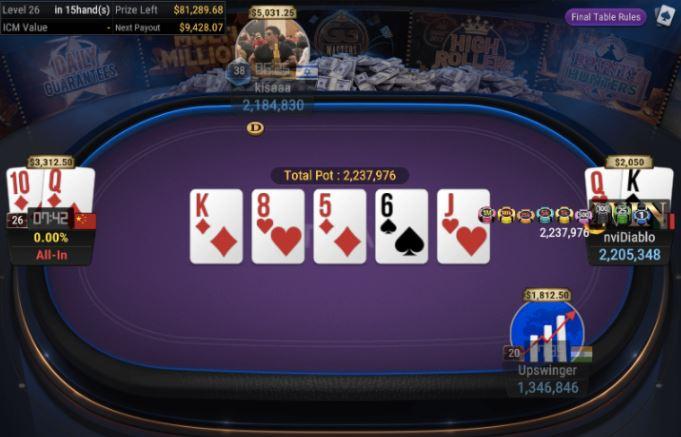 WSOP Side Event 840 Bounty High Rolle
