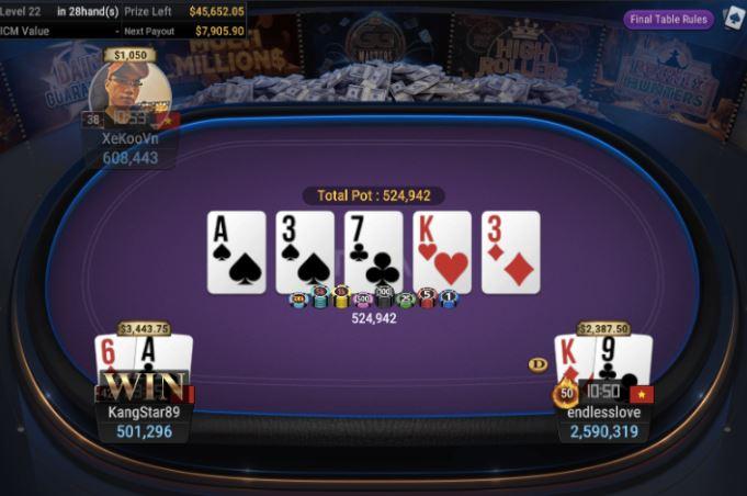 WSOP Side Event 840 Bounty Hunter High Roller 2