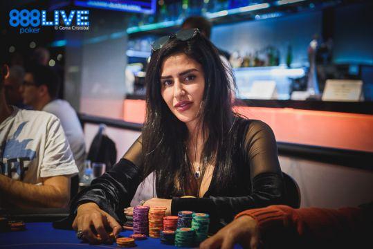 Malikeh Jamali poker