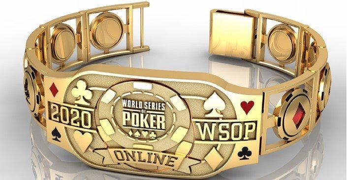 WSOP 2020 Main Event Bracelet new