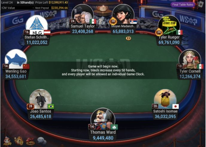 WSOP 77 5000 No Limit Hold'em Main Event. final tableJPG