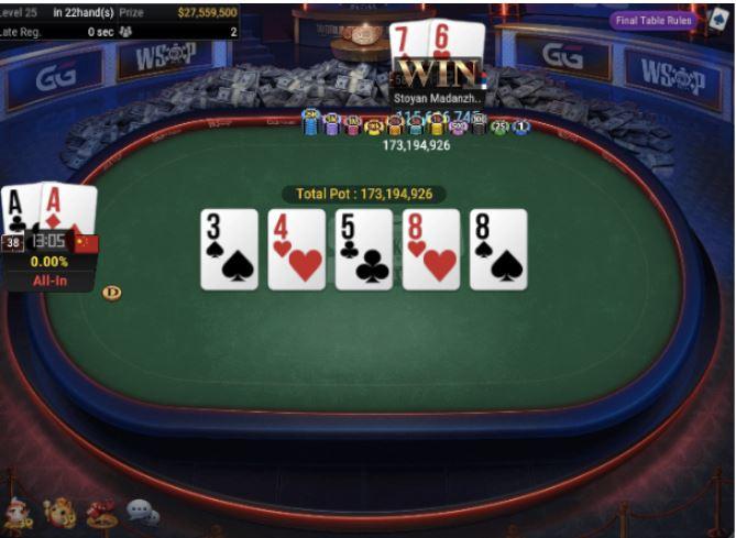 WSOP 77 5000 No Limit Hold'em Main Event