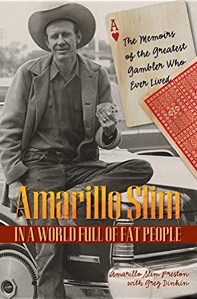 Amarillo Slim's autobiography cover