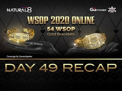 """2020 WSOP Online - Natural8: Stoyan Madanzhiev """"Nirvana76"""" crowned 51st WSOP MAIN EVENT champion; Malikeh Sadat Jamali """"Melirazavii"""" owned the gold at the Beat The Pros Bounty; final four bracelets up for grabs tonight"""