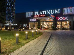 Casino Platinum Sunny Beach building at night
