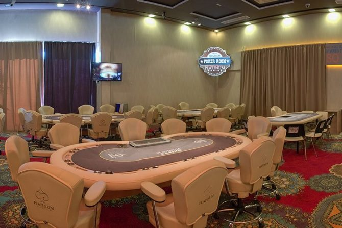 Casino Platinum Sunny Beach poker room
