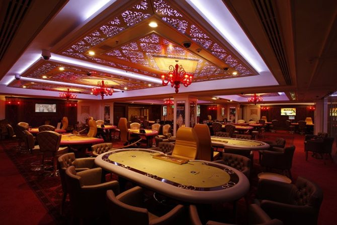 Diamond Palace Casino poker room
