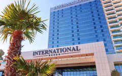 International Hotel Casino Tower Suites outside