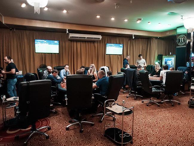 Zett Poker Club poker room