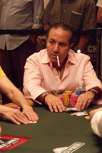 Sammy Farha playing poker