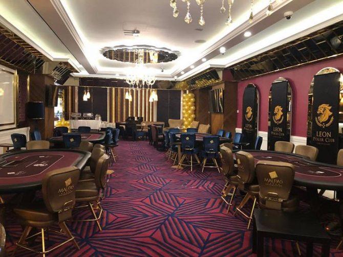 Leon Poker Club poker room