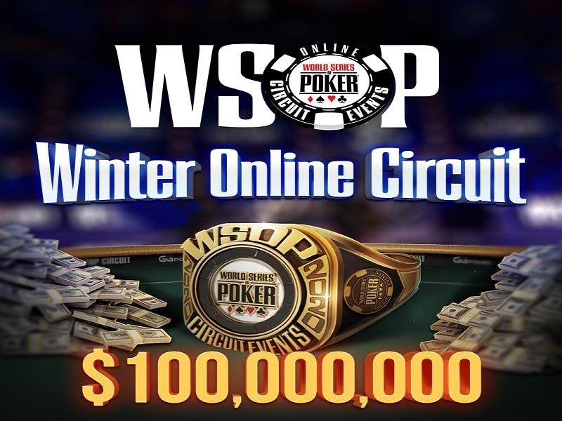 WSOP Winter Online Circuit 2020-2021 Schedule