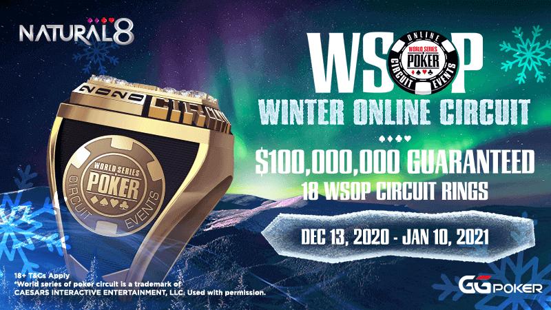 Natural8 WSOP Circuit Winter Series