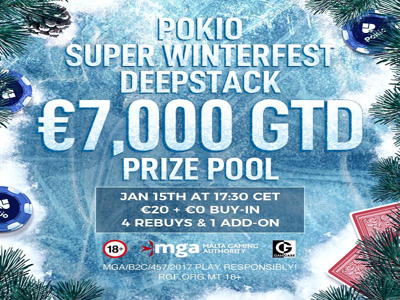 Pokio Super Winterfest 2021 Schedule