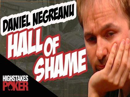 Daniel Negreanu Hall of Shame