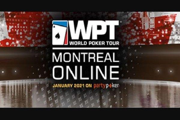 WPT Montreal Online 2021 Schedule