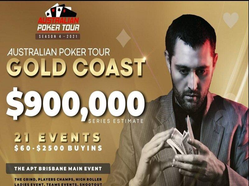 Australian Poker Tour Gold Coast 2021 Schedule