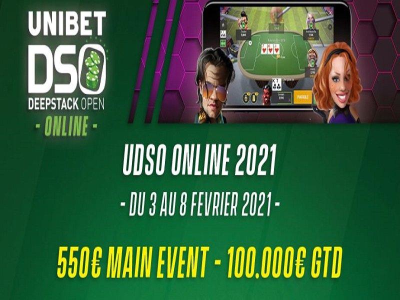 Unibet Deepstack Open 2021 Online Schedule
