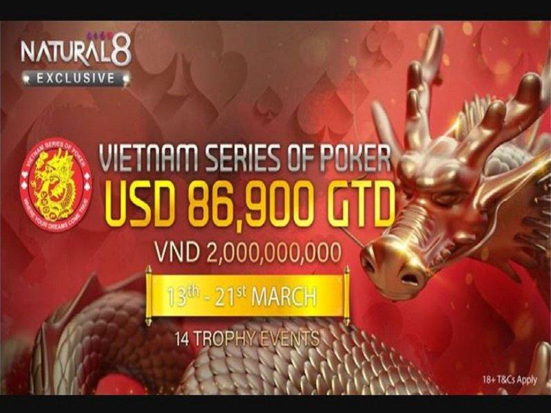 Vietnam Series of Poker 2021 Online Schedule