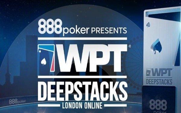 888Poker WPTDeepstacks London Online Schedule