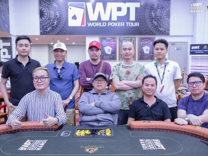 Final Table Main Event